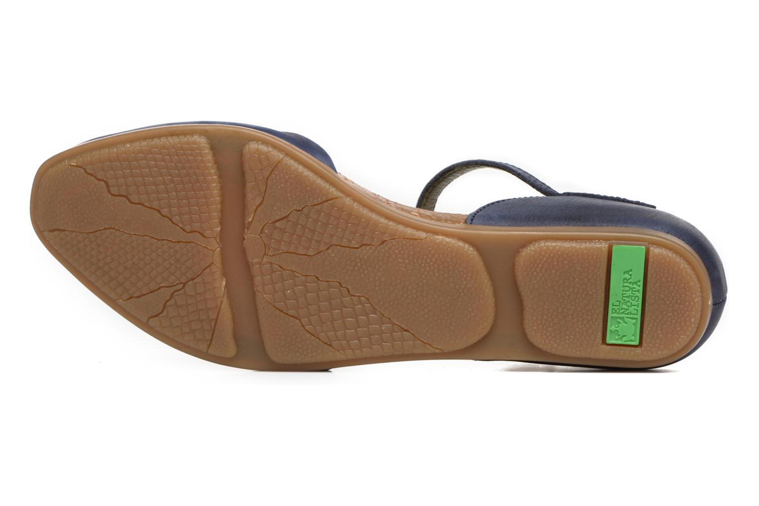 Ballet pumps El Naturalista Stella ND54 Blue view from above