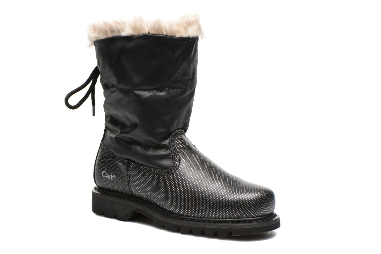 Ankle boots Caterpillar Bruiser Scrunch Fur Black 3/4 view