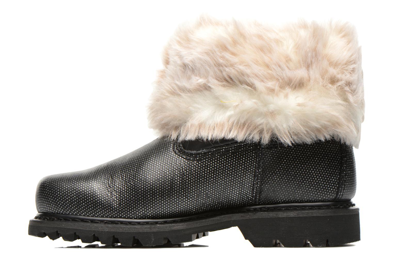 Ankle boots Caterpillar Bruiser Scrunch Fur Black front view