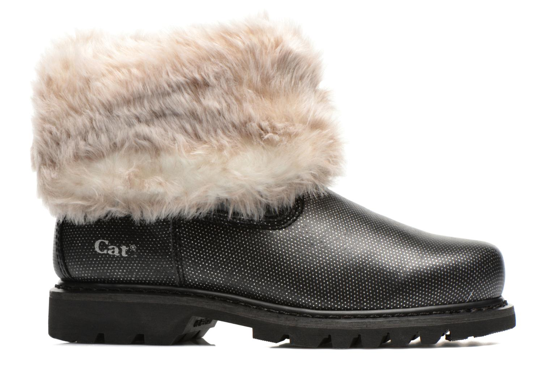 Ankle boots Caterpillar Bruiser Scrunch Fur Black back view