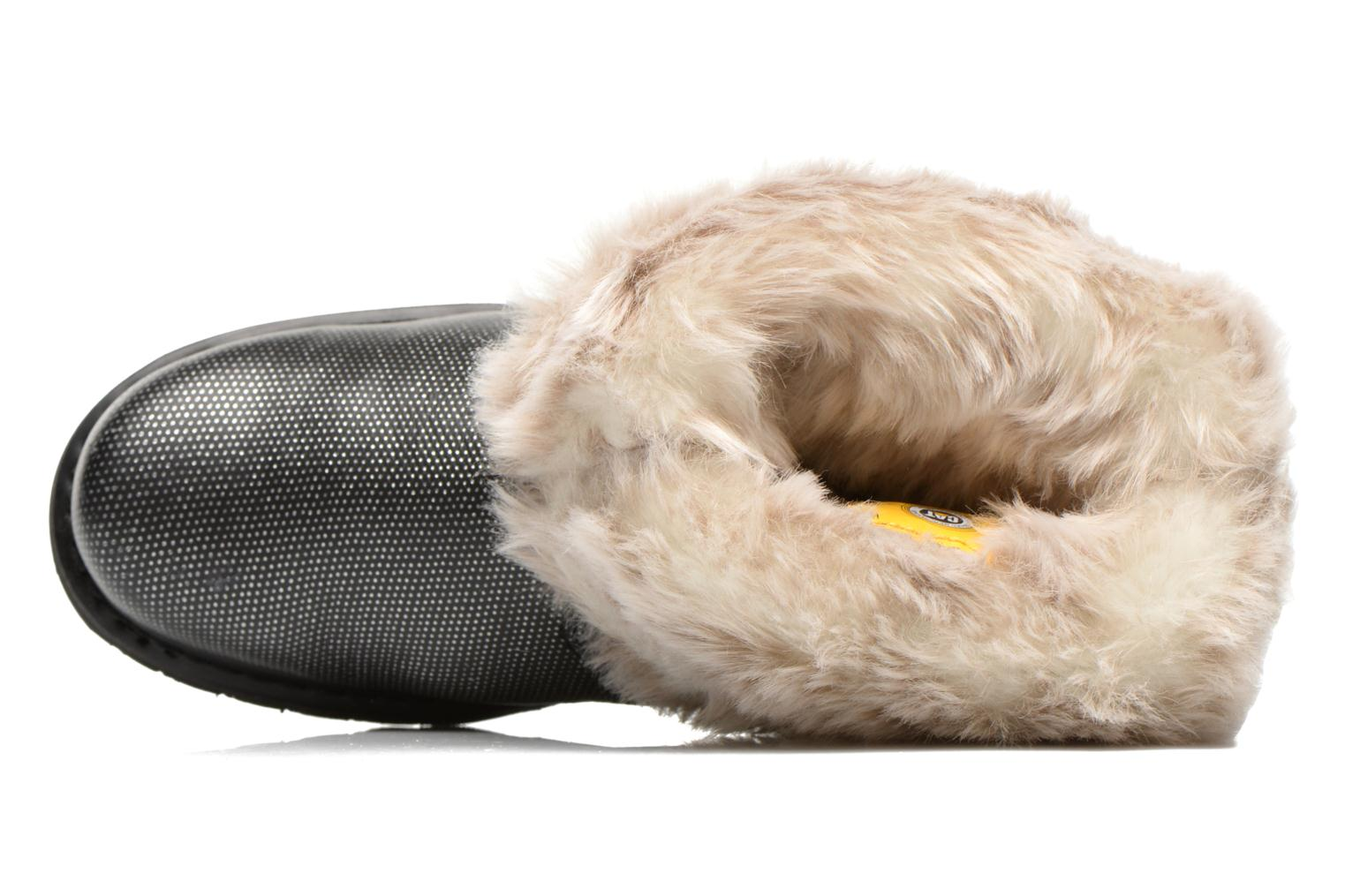 Ankle boots Caterpillar Bruiser Scrunch Fur Black view from the left