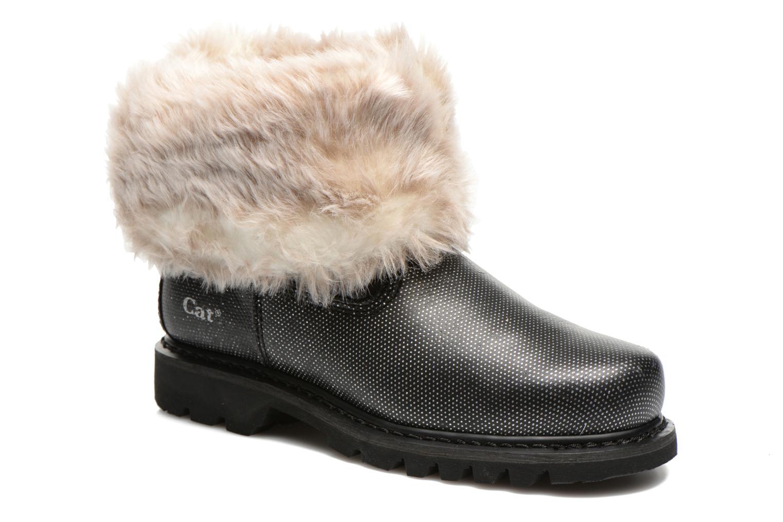Ankle boots Caterpillar Bruiser Scrunch Fur Black detailed view/ Pair view