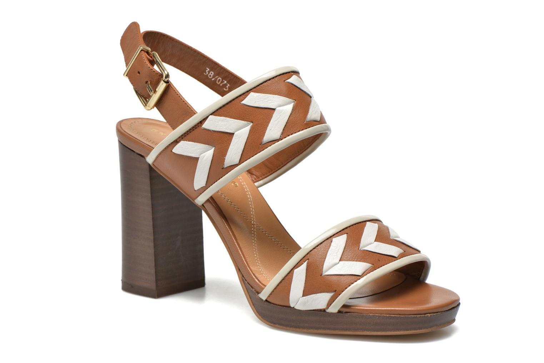 Sandaler Bruno Premi Laly Brun detaljeret billede af skoene
