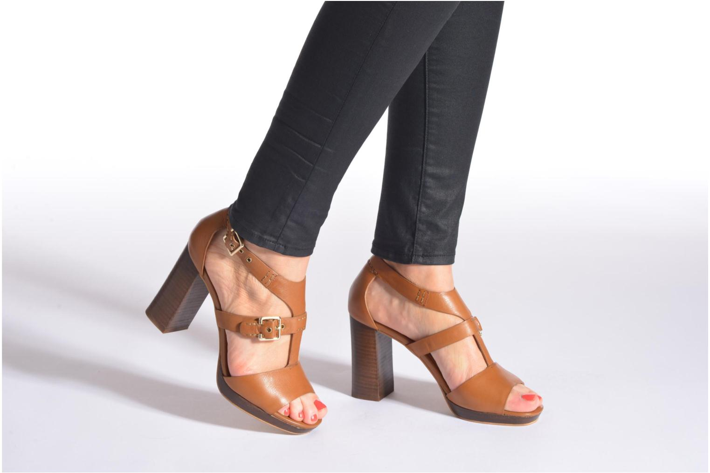 Sandales et nu-pieds Bruno Premi Ezli Bleu vue bas / vue portée sac