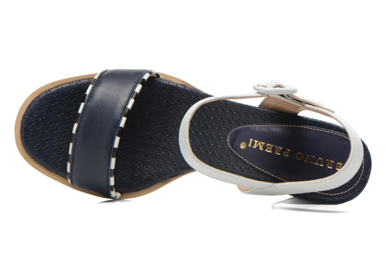 Sandales et nu-pieds Bruno Premi Bahu Bleu vue gauche