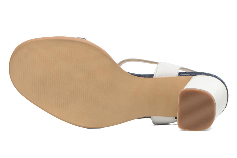 Sandales et nu-pieds Bruno Premi Bahu Bleu vue haut