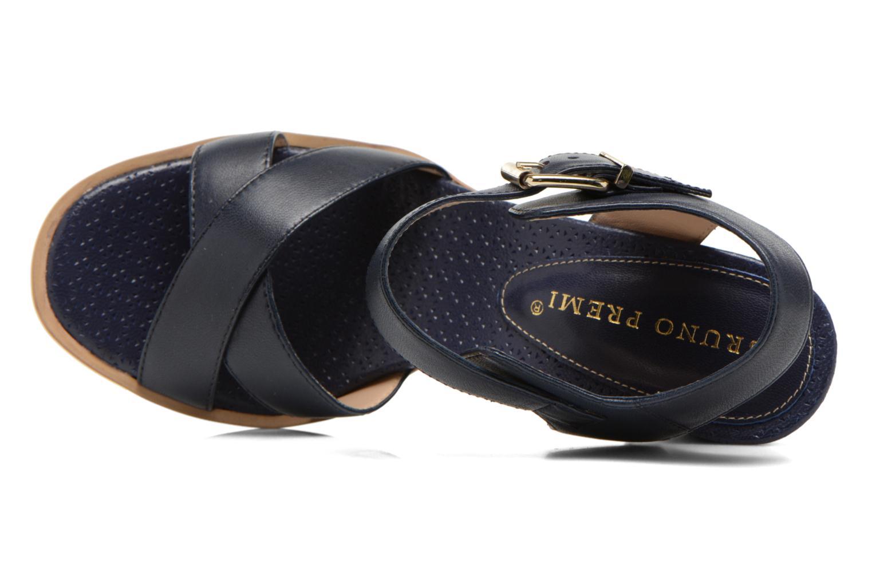 Sandales et nu-pieds Bruno Premi Mojo Bleu vue gauche
