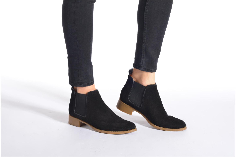 Bottines et boots Made by SARENZA Seven Tease #12 Noir vue bas / vue portée sac