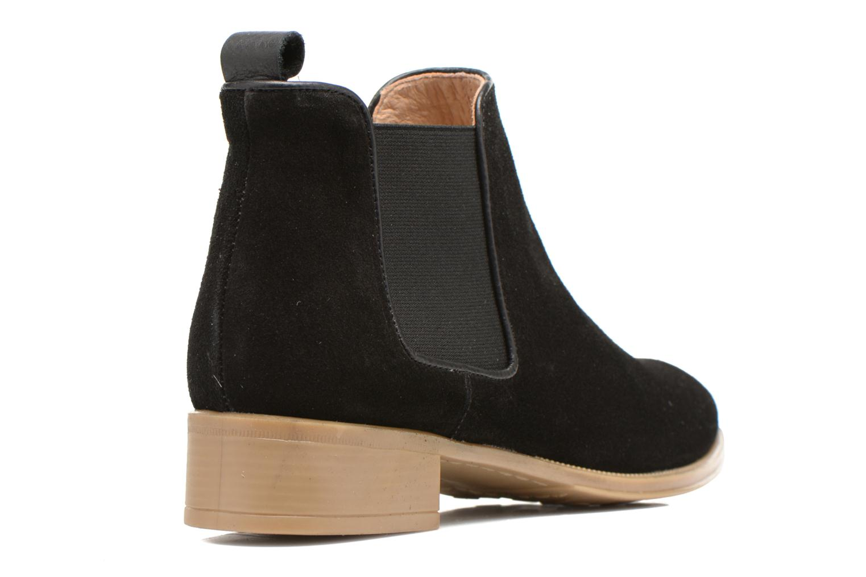 Bottines et boots Made by SARENZA Seven Tease #12 Noir vue face