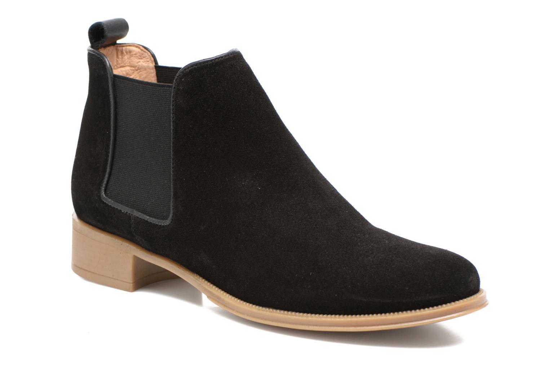 Bottines et boots Made by SARENZA Seven Tease #12 Noir vue droite