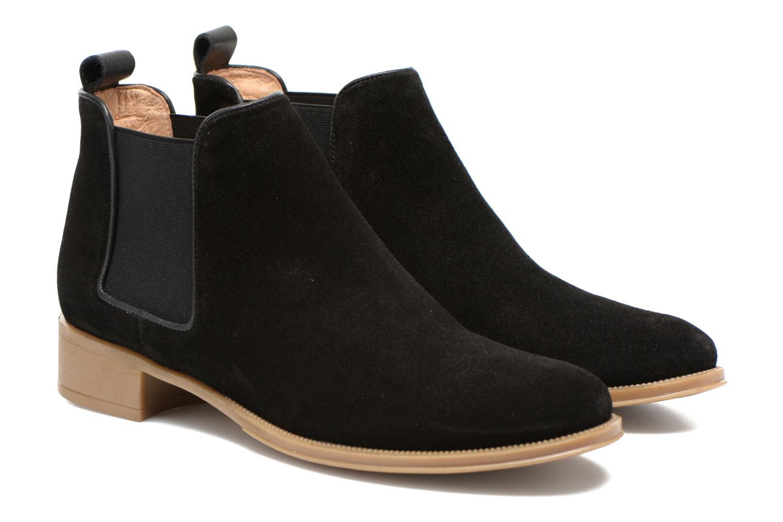 Bottines et boots Made by SARENZA Seven Tease #12 Noir vue derrière