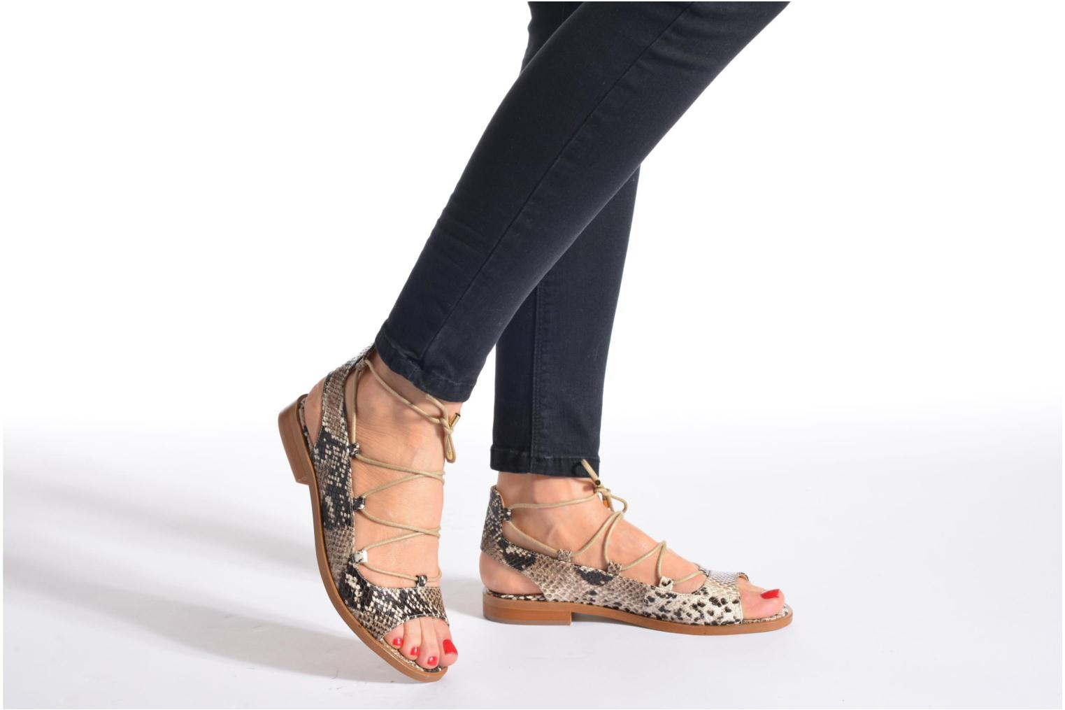 Sandalen Made by SARENZA Discow Girl #4 Beige onder