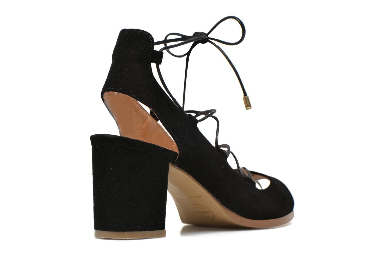 Sandalen Made by SARENZA Discow Girl #5 schwarz schuhe getragen