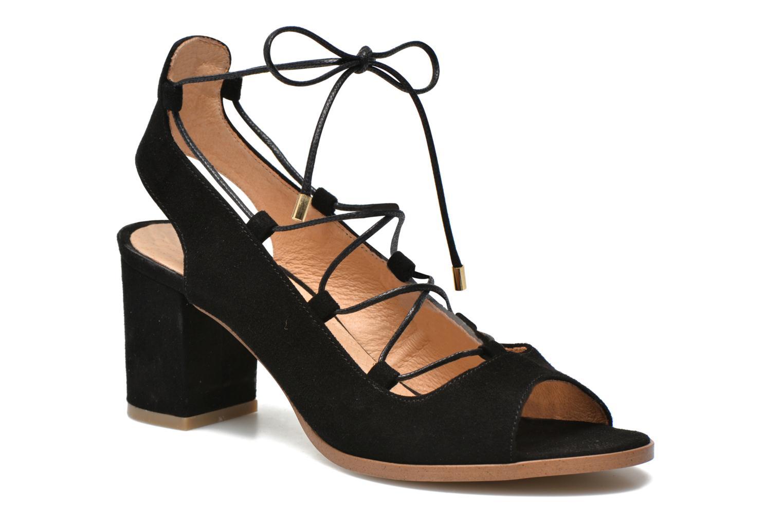 Sandalen Made by SARENZA Discow Girl #5 schwarz ansicht von vorne