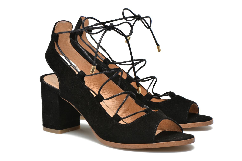 Sandalen Made by SARENZA Discow Girl #5 schwarz ansicht von rechts