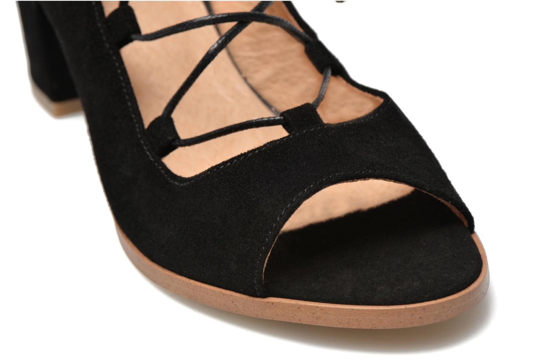 Sandalen Made by SARENZA Discow Girl #5 schwarz ansicht von hinten