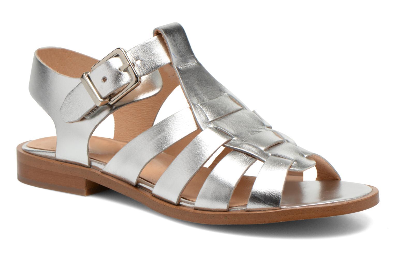 Sandales et nu-pieds Made by SARENZA Menthe Hello #1 Argent vue droite