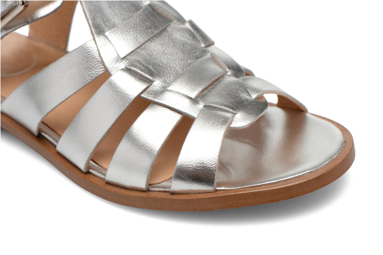 Sandalen Made by SARENZA Menthe Hello #1 silber ansicht von links