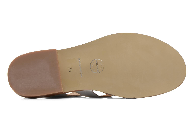 Sandalen Made by SARENZA Menthe Hello #1 silber ansicht von oben