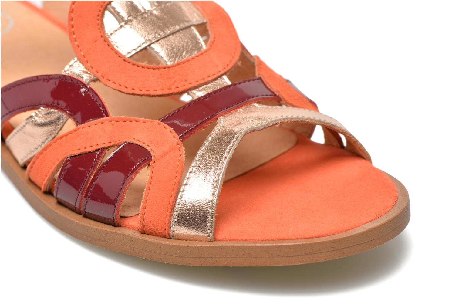 Sandalen Made by SARENZA Square Simone #2 orange ansicht von hinten