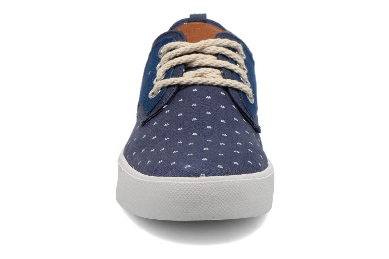Baskets Armistice Border Derby Ash Suede Bleu vue portées chaussures