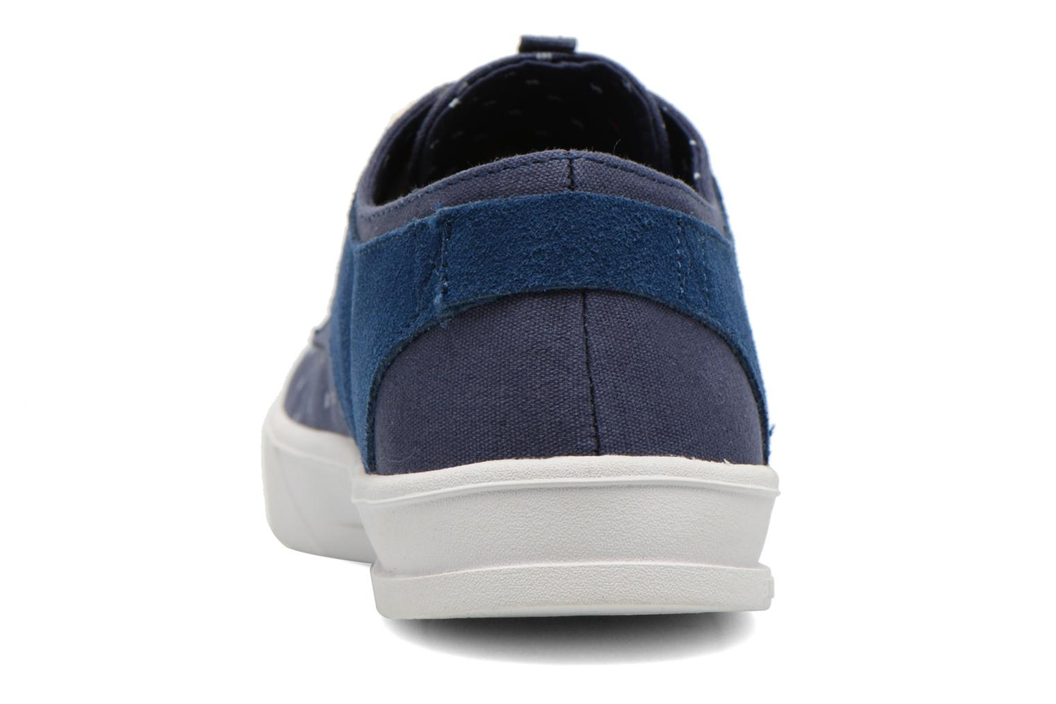 Trainers Armistice Border Derby Ash Suede Blue view from the right