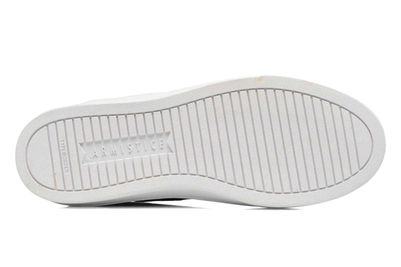 Sneakers Armistice Border Derby Ash Suede Blauw boven