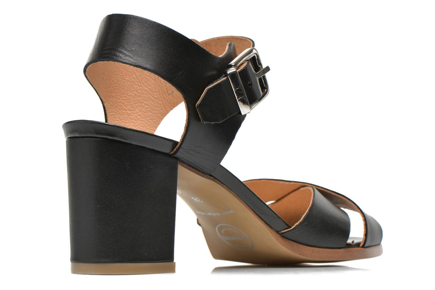 Sandals Made by SARENZA Menthe Hello #19 Black model view