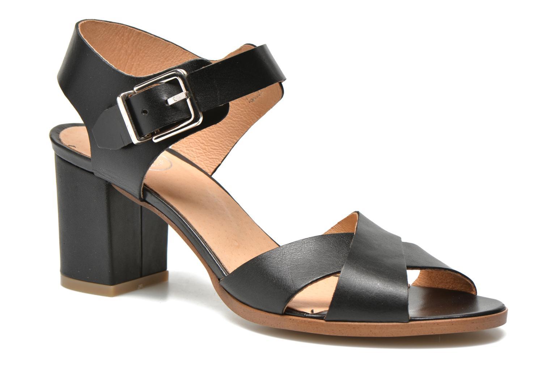 Sandalen Made by SARENZA Menthe Hello #19 schwarz ansicht von vorne