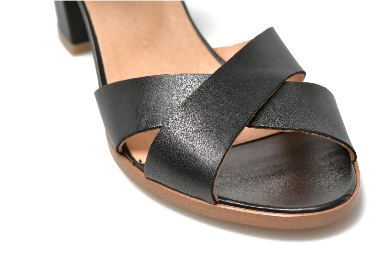 Sandalen Made by SARENZA Menthe Hello #19 schwarz ansicht von hinten