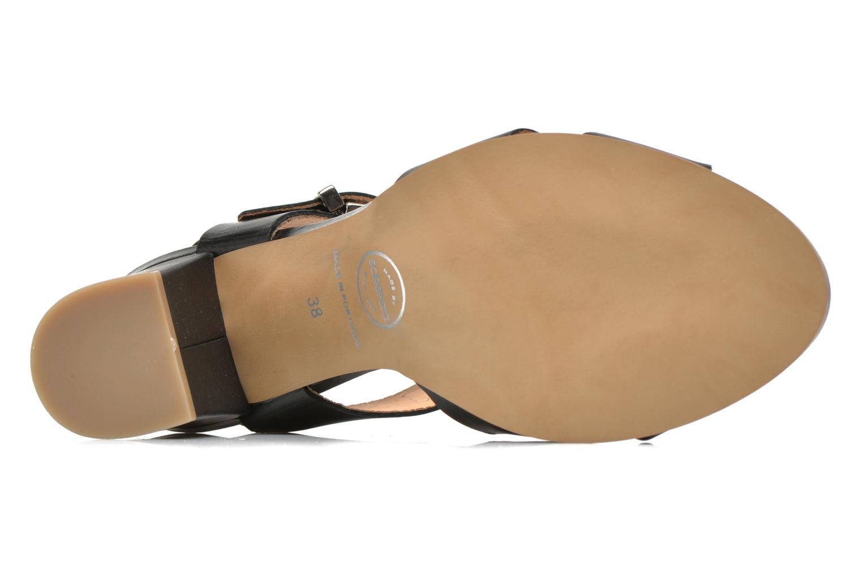 Sandalen Made by SARENZA Menthe Hello #19 schwarz ansicht von links