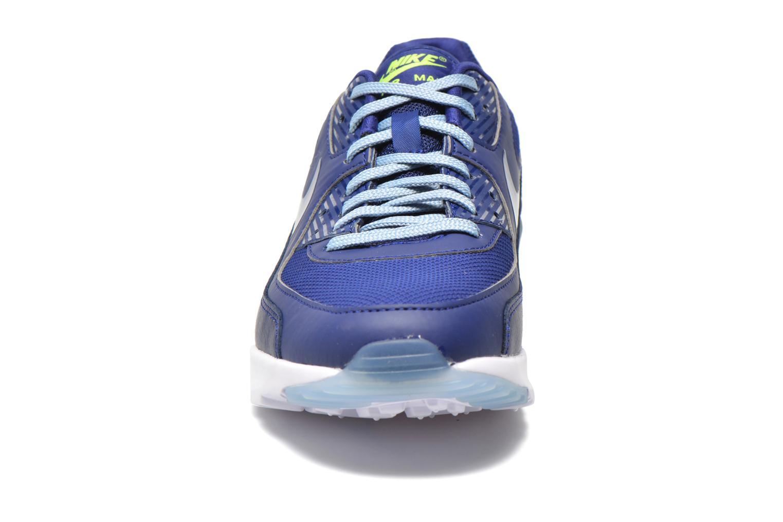 Sneaker Nike W Air Max 90 Ultra Essential blau schuhe getragen
