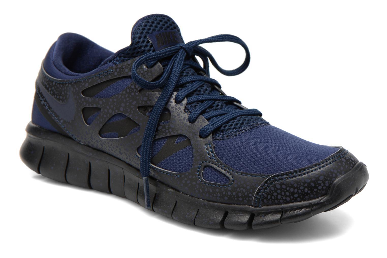 nike free run 2 blauw