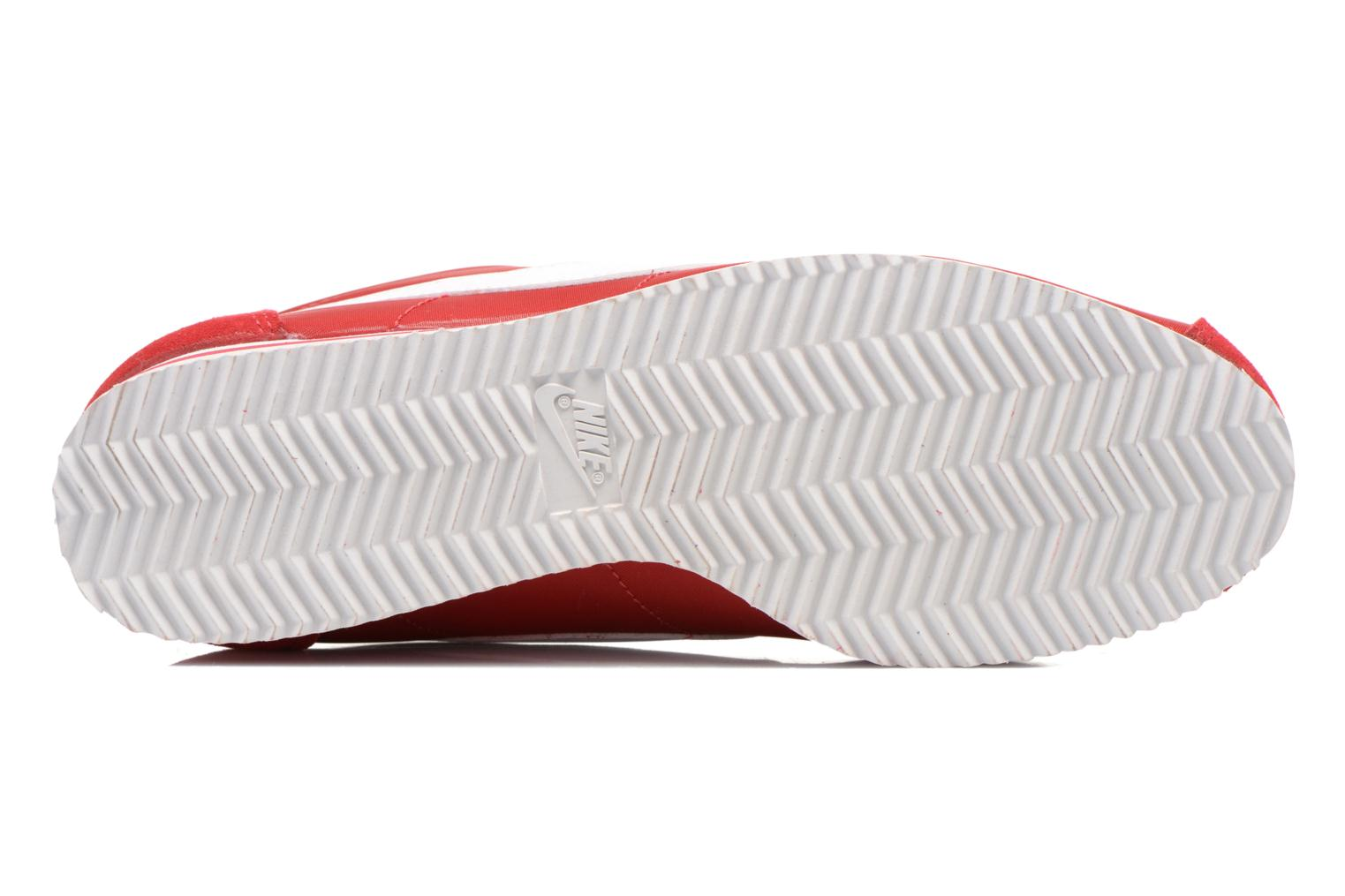 Trainers Nike Classic Cortez Nylon Red view from above
