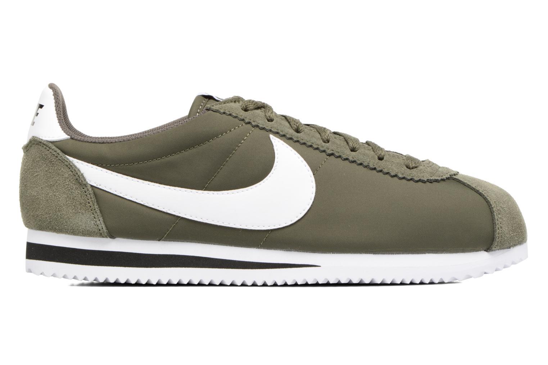 Deportivas Nike Classic Cortez Nylon Verde vistra trasera