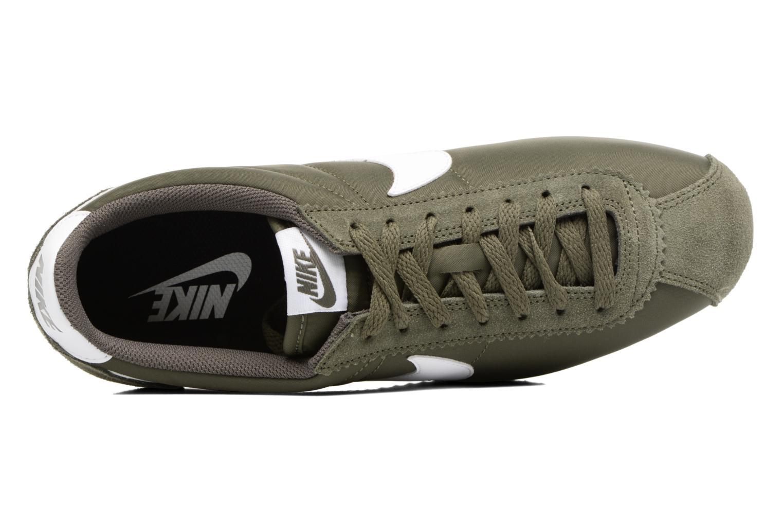 Deportivas Nike Classic Cortez Nylon Verde vista lateral izquierda