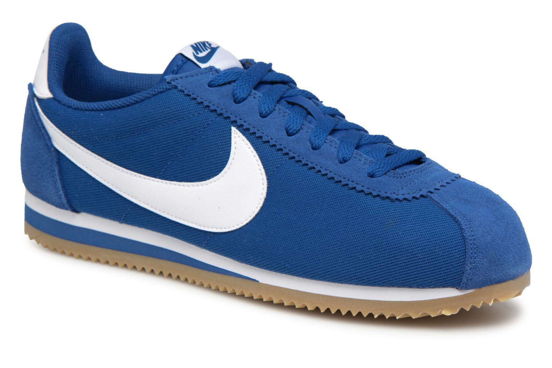 Descuento de la marca Nike Classic Cortez Nylon (Azul) - Deportivas en Más cómodo