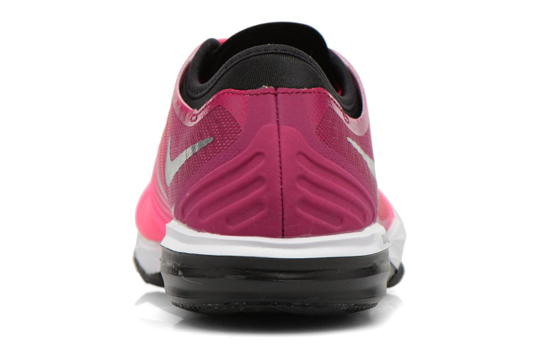 Chaussures de sport Nike W Nike Dual Fusion Tr 4 Print Rose vue droite
