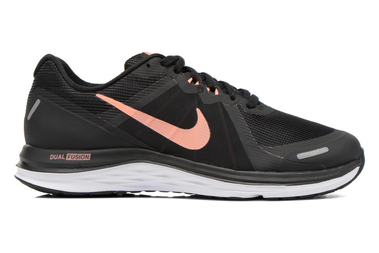 Chaussures de sport Nike Wmns Nike Dual Fusion X 2 Noir vue derrière