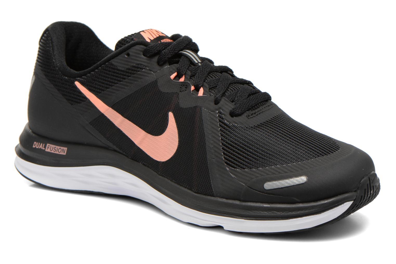 Chaussures de sport Nike Wmns Nike Dual Fusion X 2 Noir vue détail/paire