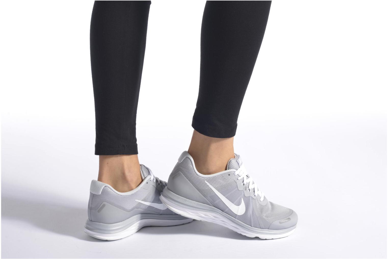 Sportschuhe Nike Wmns Nike Dual Fusion X 2 schwarz ansicht von unten / tasche getragen