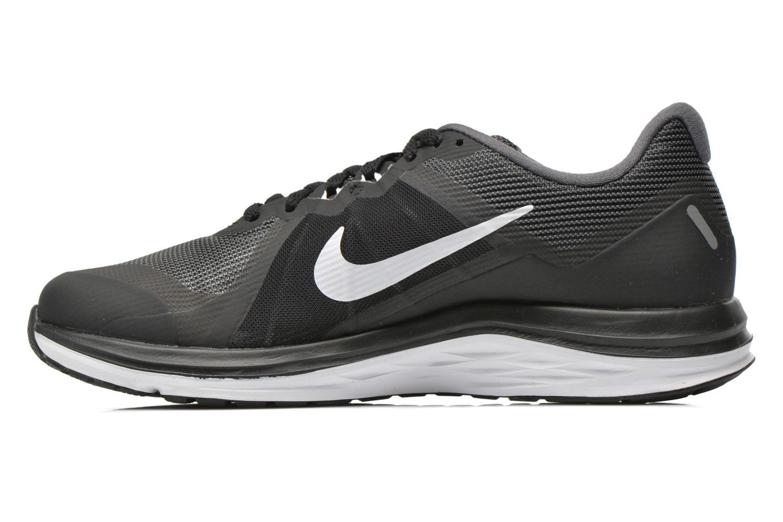 Sportschuhe Nike Wmns Nike Dual Fusion X 2 schwarz ansicht von vorne