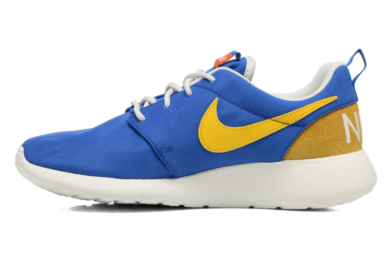 Baskets Nike Wmns Nike Roshe One Retro Bleu vue face