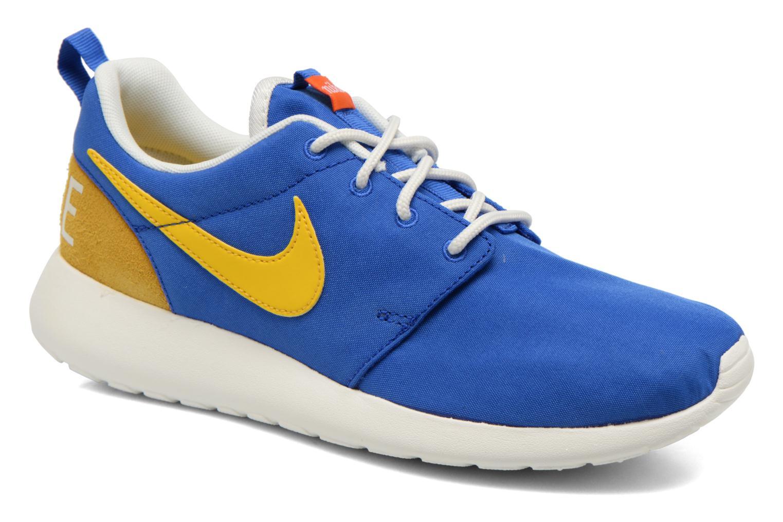 Baskets Nike Wmns Nike Roshe One Retro Bleu vue détail/paire