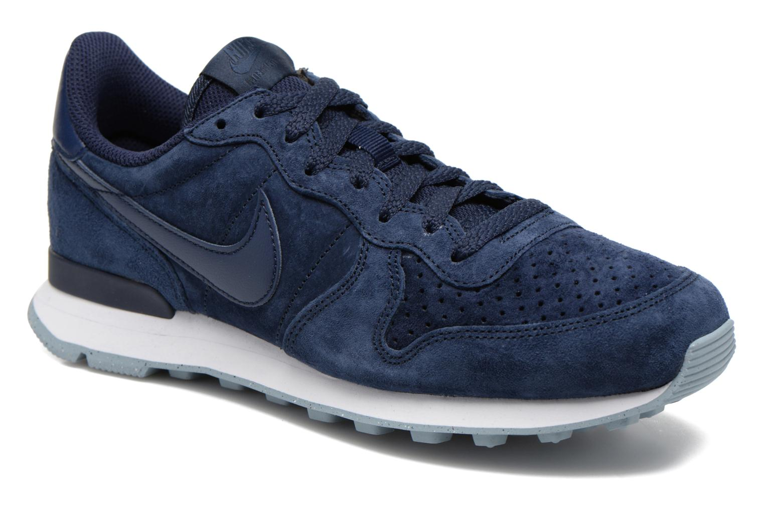 nike internationalist heren donkerblauw