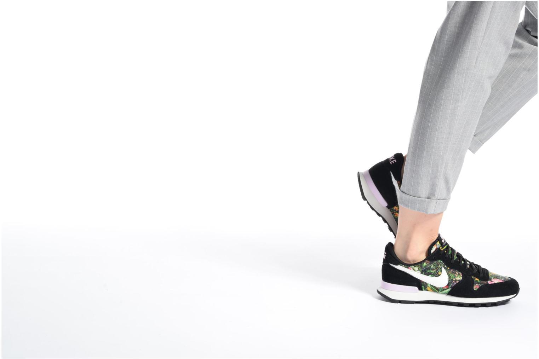 Baskets Nike W Internationalist Prm Bleu vue bas / vue portée sac