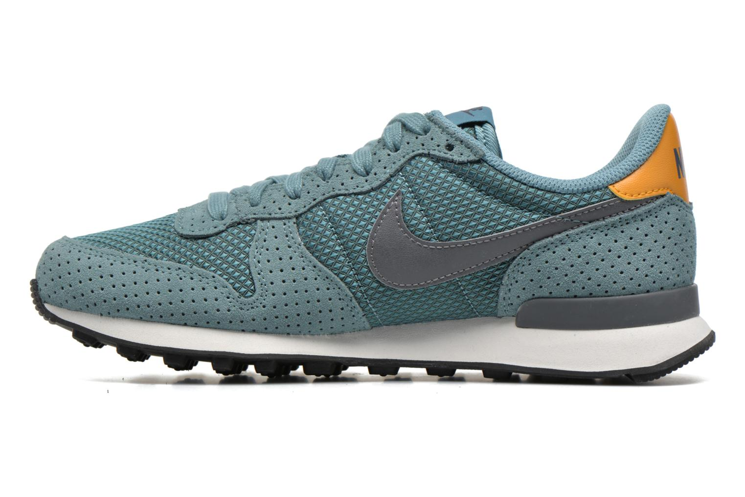 Baskets Nike W Internationalist Prm Bleu vue face
