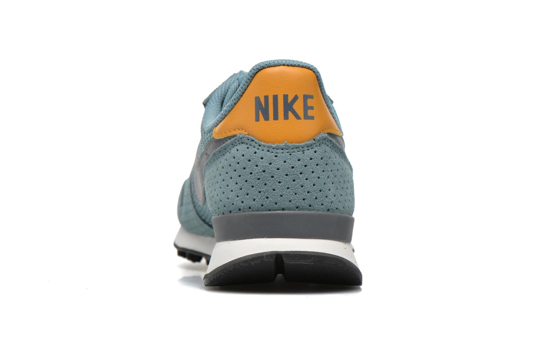 Baskets Nike W Internationalist Prm Bleu vue droite
