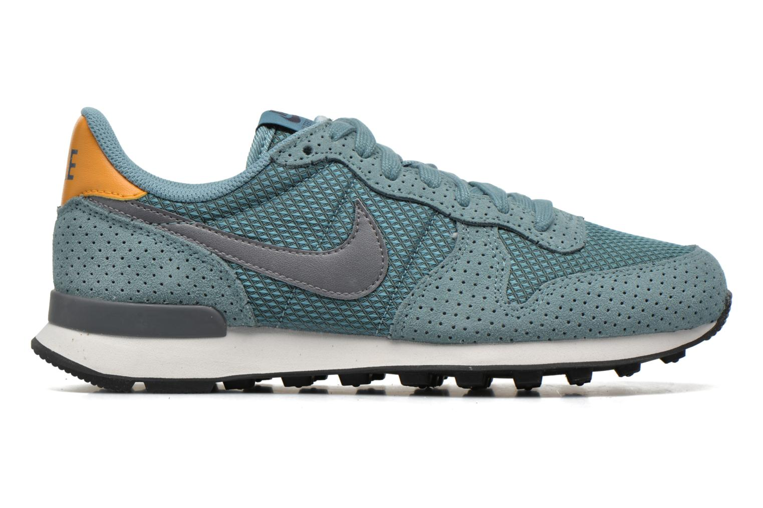 Baskets Nike W Internationalist Prm Bleu vue derrière