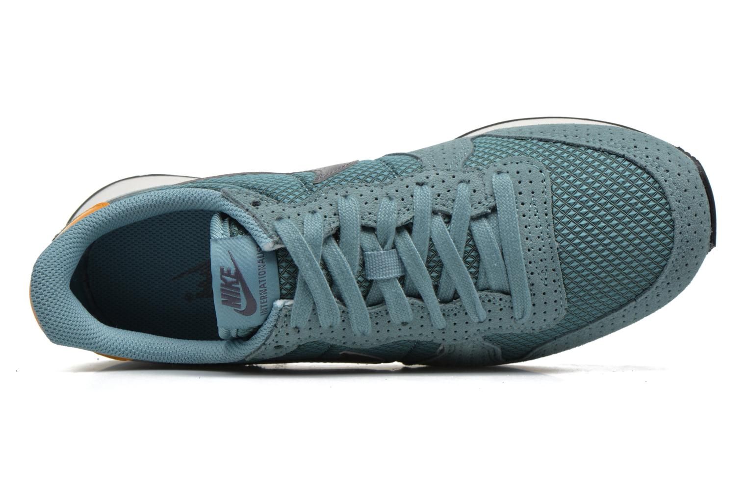 Sneaker Nike W Internationalist Prm blau ansicht von links